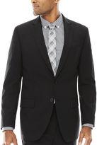 Claiborne Grid Suit Jacket
