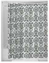 InterDesign Damask Fabric Shower Curtain