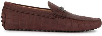 Tod's T-bar driving shoes