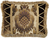 Dian Austin Couture Home King Gatsby Medallion-Center Sham with Fringe