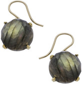 Heather Hawkins Oversized Radiate Gemstone Drop Earrings