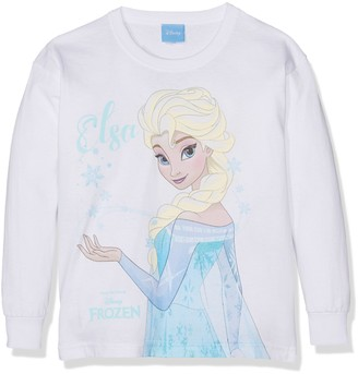 Disney Girl's Frozen-Elsa Magic-Kids LS Xlg T-Shirts