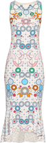 Peter Pilotto Kia geometric-print sleeveless midi dress