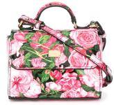 Dolce & Gabbana rose (Pink) print shoulder bag
