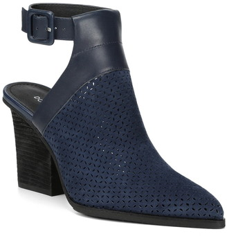 Donald J Pliner Varen Heel Cutout Perforated Bootie
