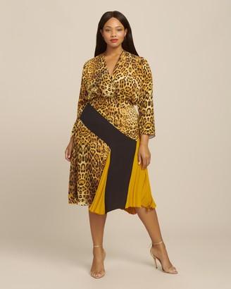 Cushnie High Waisted Midi Length Skirt
