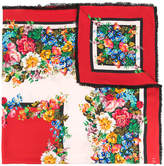 Gucci Floral printed scarf