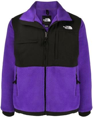 The North Face Logo Print Zip-Up Jacket