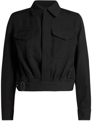 Yohji Yamamoto Button-Up Jacket