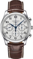 Longines L2.759.4.78.5 Master Collection stainless steel chronograph watch