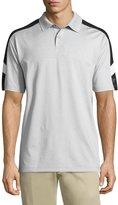 Callaway Emboss 3 Colorblock Polo Shirt, Gray