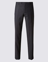 Collezione Italian Wool Tailored Fit Trousers