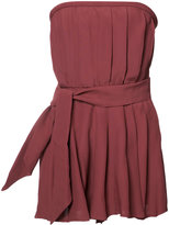 C/Meo strapless playsuit