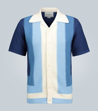 Casablanca Yass knitted cotton shirt