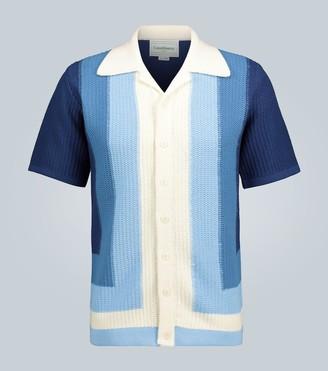 Casablanca Yass knitted cotton shirt