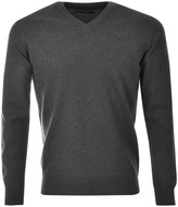 Barbour Pima Knit Jumper Grey