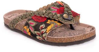 Muk Luks Womens Elaine Heeled Sandals