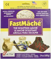 Activa FastMache Sculpting Mache, 2-Pound, Bright White