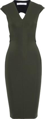 Victoria Beckham Cutout Cady Dress