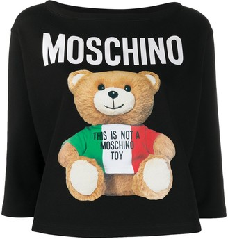 Moschino teddy bear 3/4 sleeves T-shirt