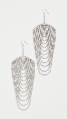 Area Draped Chandelier Earrings