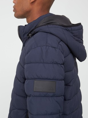 Very Man Padded Jacket with Detachable Hood