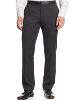 Bar III Charcoal Texture Stripe Slim-Fit Pants, Only at Macy's