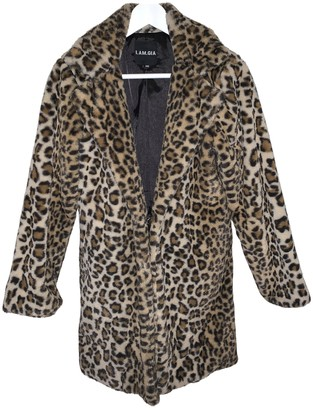 I.AM.GIA Multicolour Faux fur Coats