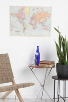 Urban Outfitters World Map Poster