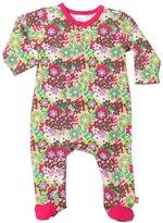 Zutano Primrose Footie (Baby) - Pink-Newborn