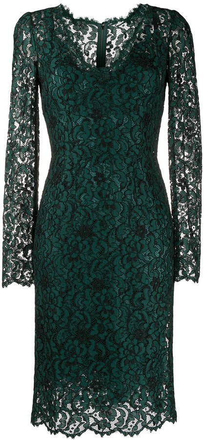 Dolce & Gabbana Fitted Lace Dress