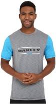 Oakley Melange Short Sleeve Rashguard