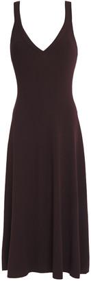A.L.C. Ribbed-knit Midi Dress