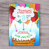 My 1st Years Personalised Birthday Book