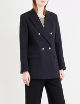 Sandro Oversized cotton blazer