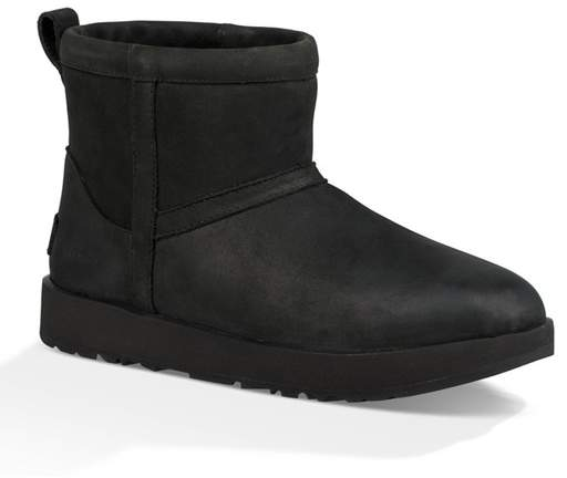 b3a39954ced Classic Mini Genuine Shearling Lined Waterproof Boot