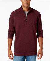 Tommy Bahama Men's Reversible Slub Half-Zip Sweatshirt