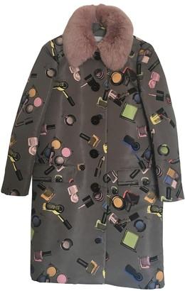 Moschino Cheap & Chic Moschino Cheap And Chic Grey Coat for Women