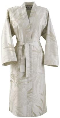 Yves Delorme Palmea Kimono Robe (Medium)