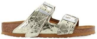 Rick Owens X Birkenstock Arizona Laminated Sandals