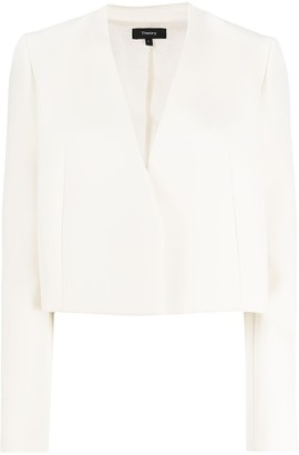 Theory Cropped Tailored Jacket