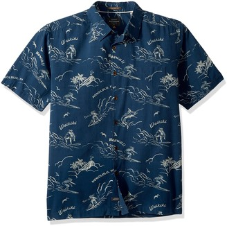 Quiksilver Waterman Men's Town All Day Woven Top