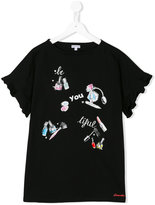 Simonetta Be-you-tiful T-shirt - kids - Cotton - 16 yrs