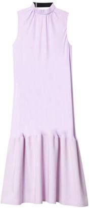 Tibi Modern Drape Sculpted Midi Dress