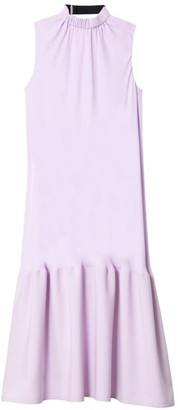 Tibi Modern Drape Sculpted Midi Dress
