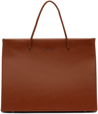 Medea Brown Hanna Chain Shoulder Bag