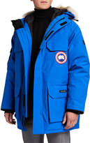 Canada Goose Men's Expedition Hooded Parka Coat w/ Removable Fur Trim