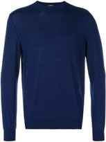 Z Zegna classic crew neck jumper - men - Wool - M