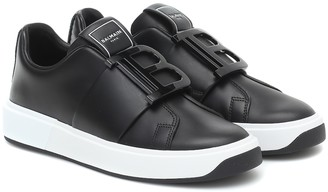 Balmain B-Court leather sneakers