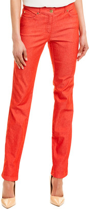 Escada Acrylic Red Skinny Leg